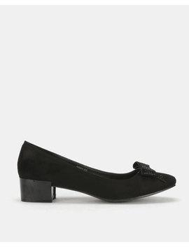 Butterfly Feet Patricia Block Heel Black by Butterfly Feet