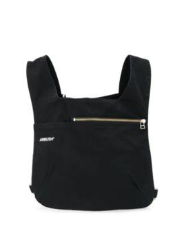 Logo Print Chest Bag by Ambush