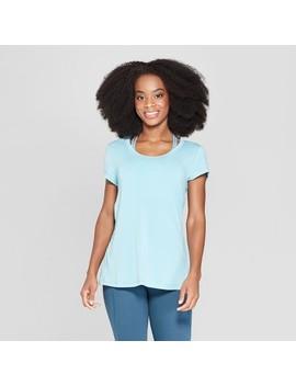 Women's Short Sleeve Draped Back T Shirt   C9 Champion® by C9 Champion