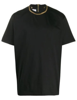 Chain Detail T Shirt by Burberry