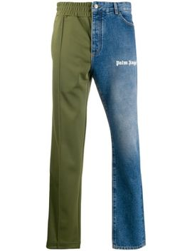 Hybrid Straight Trousers by Palm Angels