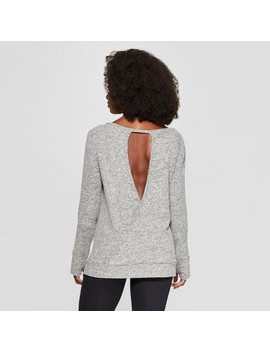 Women's Long Sleeve Layering Top   C9 Champion® Oatmeal Cream Heather S by C9 Champion