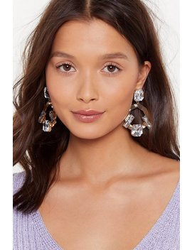 New Jewels Embellished Drop Earrings by Nasty Gal