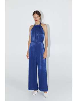 Satin Jumpsuit Jumpsuitswoman by Zara