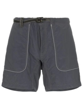Belted Waist Cargo Shorts by And Wander