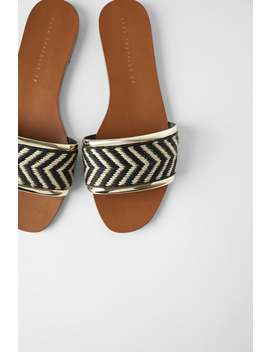Flat Natural Sandals  Sandals Woman by Zara