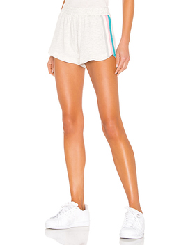 Lounge Summer Stripes Short In Ash by Monrow
