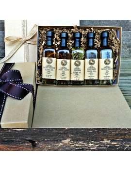 Olivenöl Und Balsamico Essig Italienischen Sampler Set   Urlaub Gourmet Geschenk Box   Gourmet Sampler   Olivenöl Sampler by Etsy