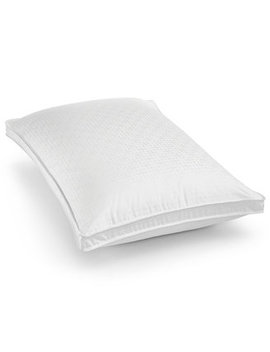 European White Goose Down Medium Standard Pillow, Created For Macy's by General