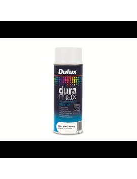 Dulux Duramax 340g Flat White Spray Paint by Dulux