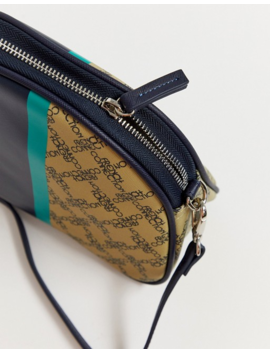 French Connection Alexia Monogram Crescent Handbag by French Connection