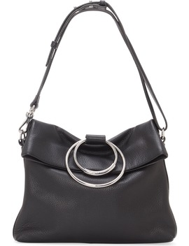 Kimi Large Leather Crossbody Bag by Vince Camuto