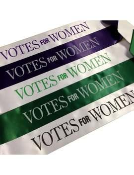Votes For Women Sash   Adults Size Sash Or Childrens Size Sash   Emmeline Pankhurst   Suffragettes Sashes by Etsy