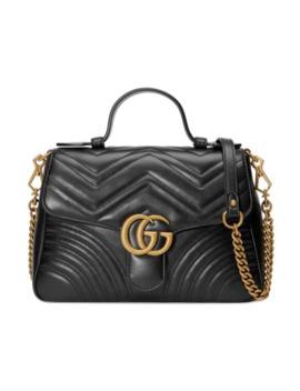 Kleine Gg Marmont Handtasche Aus Leder by Gucci