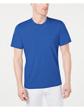 Men's Performance Pocket T Shirt, Created For Macy's by General