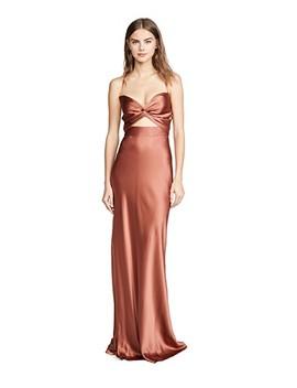 Twist Gown by Michelle Mason