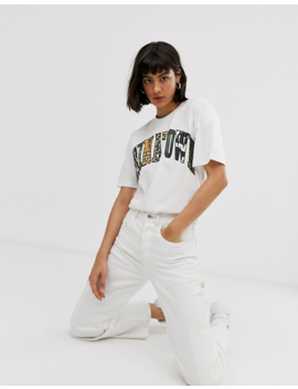 Chinatown Market Boyfriend T Shirt With Animal Infill Graphic by Asos