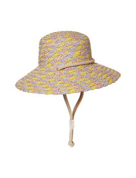 Aimee Squishee® Woven Hat by Eric Javits