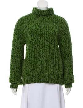 Virgin Wool Heavyweight Turtleneck Sweater by Calvin Klein 205 W39 Nyc