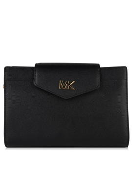 Grained Leather Cross Body Bag by Michael Michael Kors