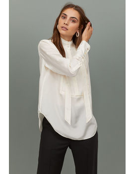 Silk Dress Shirt by H&M