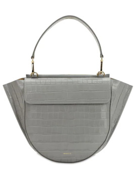 Hortensia Croc Embossed Leather Bag by Wandler