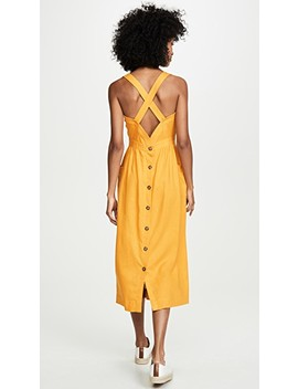 Garment Dyed Apron Midi Dress by Madewell