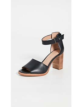 The Carli Heritage Block Heel Sandals by Madewell