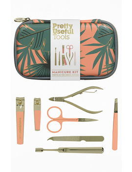 Wild And Wolf Coral Reef Manicure Kit by Pacsun