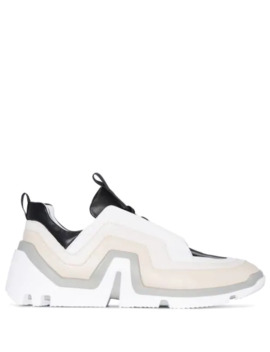 Vibe Geometric Panelled Sneakers by Pierre Hardy