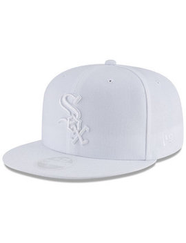 Chicago White Sox White Out 59 Fifty Fitted Cap by General