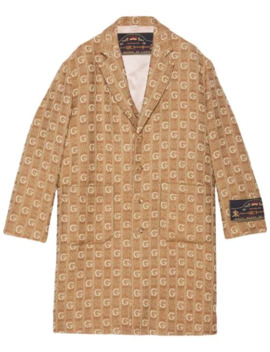 Monogram Coat by Gucci