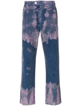 Bleached Corduroy Trousers by Gucci