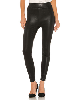 Rochelle Pull On Pant In Black Coated by L'agence