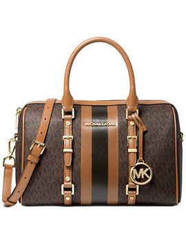 Bedford Travel  Leather Duffle Satchel by General