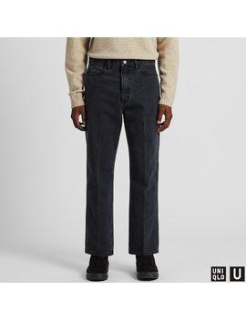 Men U Straight Jeans by Uniqlo
