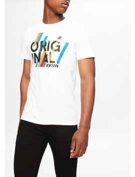Original Printed T Shirt by Matalan