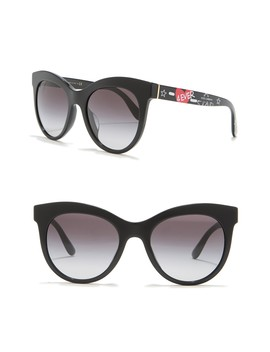 53mm  Oval Cat Eye Sunglasses by Dolce & Gabbana