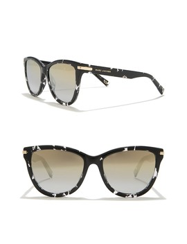 54mm Rounded Cat Eye Sunglasses by Marc Jacobs