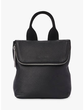 Whistles Tiny Verity Leather Backpack, Black by Whistles