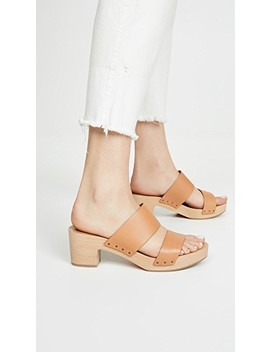 The Clara Clog Sandals by Madewell