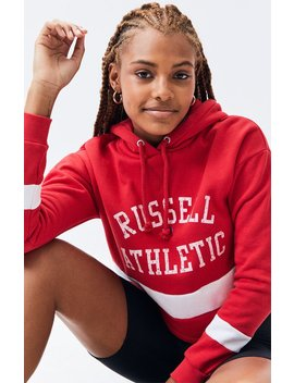 Russell Athletic Dana Cropped Hoodie by Pacsun
