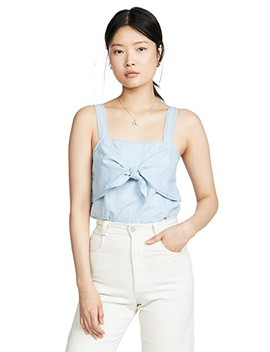 Denim Tie Front Cami by Madewell