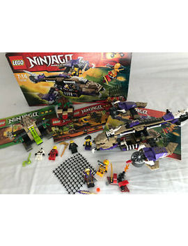 Lego Ninjago Bundle   Skylar Condrai Copter (70746) As Well As 2258 And 2516 by Ebay Seller