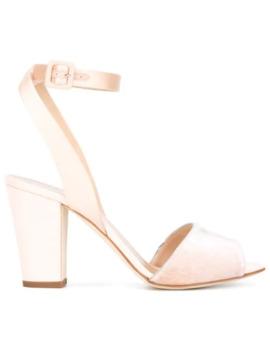 Block Heel Sandals by Giuseppe Zanotti