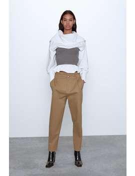 Slouchy Trousers View All Knitwear Woman by Zara