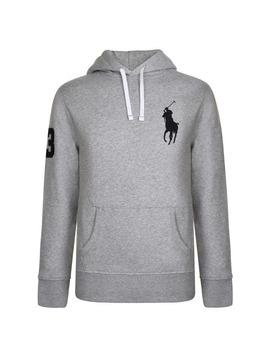 Logo Hooded Sweatshirt by Polo Ralph Lauren