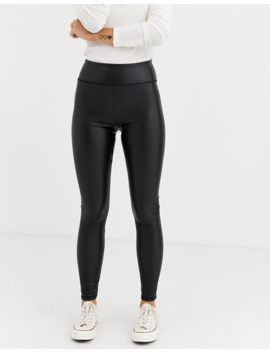 Hollister Faux Leather Legging by Hollister