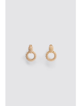 Mini Pearl Round Earrings New Intrf by Zara