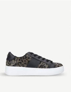 Belle Faux Leather Flatform Trainer by Steve Madden